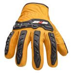 Thumbnail - Impact Leather Driver Cut 5 Gloves - 2