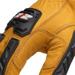 Thumbnail - Impact Leather Driver Cut 5 Gloves - 3