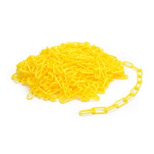 Yellow Plastic Safety Chain