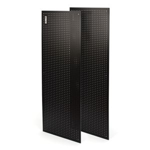 2-Piece Steel Pegboard Kit for 6-foot Industrial Storage Rack