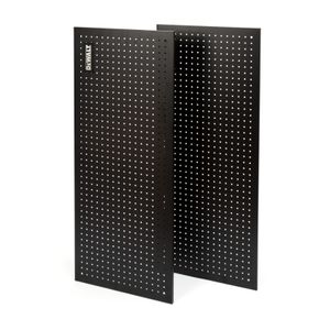 2-Piece Steel Pegboard Kit for 4-foot Industrial Storage Racks