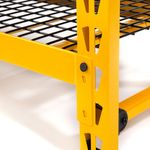 Thumbnail - 50 in Garage Bench with Wire Grid Storage Shelf - 3