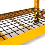 Thumbnail - 50 in Garage Bench with Wire Grid Storage Shelf - 4