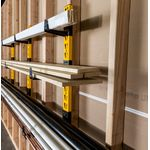 Thumbnail - 3 Piece Wall Mount Cantilever Rack - 71