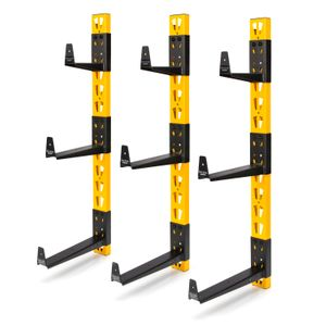 3-Piece Wall Mount Cantilever Rack