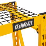 Thumbnail - 48 in H x 50 in W x 18 in D 3 Shelf Wire Deck Industrial Storage Rack - 1
