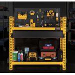Thumbnail - 2 Shelf Industrial 4 Foot Storage Rack Work Station Kit - 91