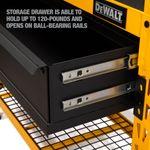 Thumbnail - 2 Shelf Industrial 4 Foot Storage Rack Work Station Kit - 21