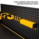 Thumbnail - 2 Shelf Industrial 4 Foot Storage Rack Work Station Kit - 31