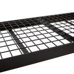 Thumbnail - 48 in H x 50 in W x 18 in D 3 Shelf Wire Deck Black Industrial Storage Rack - 41