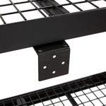 Thumbnail - 72 in H x 77 in W x 24 in D 4 Shelf Black Industrial Storage Rack - 51