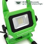 Thumbnail - 1 000 Lumen Portable Jobsite LED Work Light - 11
