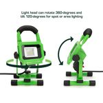 Thumbnail - 1 000 Lumen Portable Jobsite LED Work Light - 21
