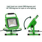 Thumbnail - 3 000 Lumen Portable Jobsite LED Work Light - 21