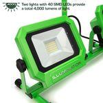 Thumbnail - 4 000 Lumen Portable Jobsite LED Work Light with Tripod - 11