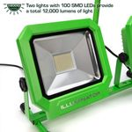 Thumbnail - 12 000 Lumen Portable Jobsite LED Work Light with Tripod - 11
