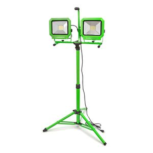 12 000 Lumen Portable Jobsite LED Work Light with Tripod