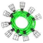 Thumbnail - 100 Foot 10 Light Heavy Duty Outdoor String Lights - 01