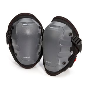 Foam Knee Pads with Non-Marring Cap Attachment