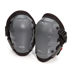 Gel Knee Pads with Non-Marring Cap Attachment