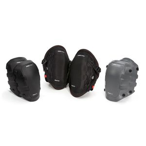Foam Knee Pads with Cap Attachment Combo Set