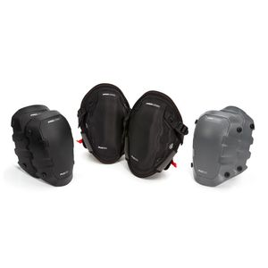 Gel Knee Pads with Cap Attachment Combo Set