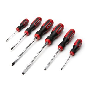 6-Piece Comfort Grip Screwdriver Set