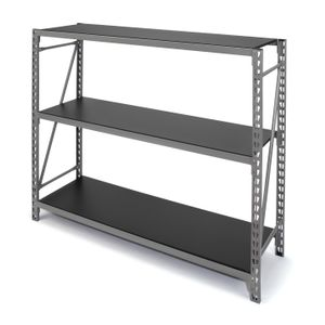 3.5-Foot 3-Shelf Storage Rack