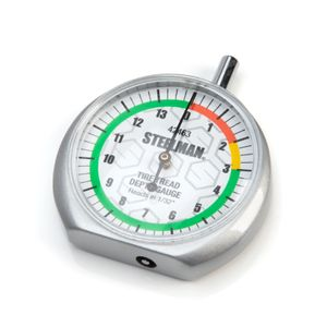 Dial Type Color Coded Tread Depth Gauge