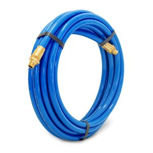 25-Foot x 3/8-Inch ID Polyurethane Air Hose with Reusable 1/4-Inch NPT Brass Fittings