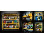 Thumbnail - 72 in H x 77 in W x 24 in D 4 Shelf Industrial Storage Rack - 7