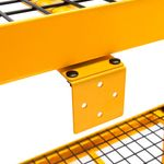 Thumbnail - 72 in H x 77 in W x 24 in D 4 Shelf Industrial Storage Rack - 3