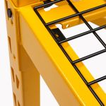 Thumbnail - 72 in H x 77 in W x 24 in D 4 Shelf Industrial Storage Rack - 41