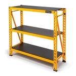 Thumbnail - 48 in H x 50 in W x 18 in D 3 Shelf Industrial Storage Rack - 0