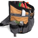 Thumbnail - 8 Pocket Utility Pouch with Padded Belt Gray Tan - 21