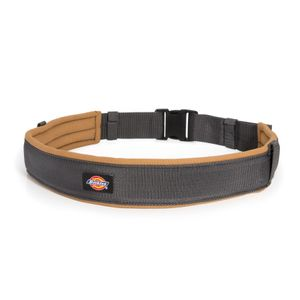 2.5-Inch Padded Work Belt with Quick Release Buckle, Gray / Tan
