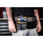 Thumbnail - 3 Inch Padded Work Belt with Quick Release Buckle Gray Tan - 3