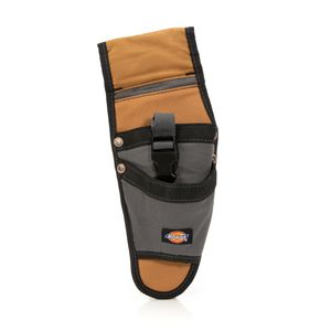 Tool Belt Drill and Tool Holster, Gray / Tan
