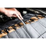 Thumbnail - Large Wrench Tool Organizer Roll Gray Tan - 61