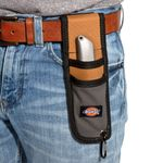 Thumbnail - Utility Knife Sheath with Cut Resistant Lining Gray Tan - 4