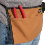 Thumbnail - 2 Pocket Canvas Apron Gray Tan - 11