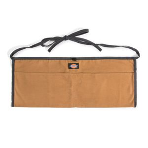 2-Pocket Canvas Apron, Gray / Tan
