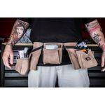 Thumbnail - 11 Pocket Leather Tool Belt Tan - 4
