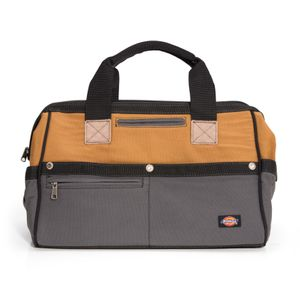 16-Inch Work Bag, Gray / Tan