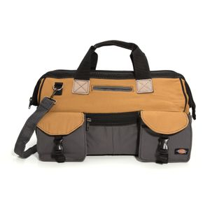 18 Inch Work Bag Gray Tan