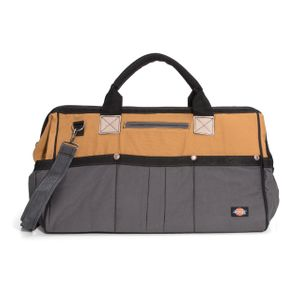 20 Inch Work Bag Gray Tan