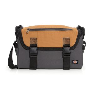 16 Inch Messenger Bag Gray Tan