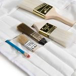 Thumbnail - Small Paint Brush Tool Organizer Roll - 2