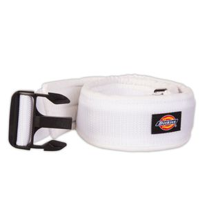3-Inch Padded Work Belt with Quick Release Buckle, White