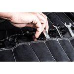 Thumbnail - Large Wrench Tool Organizer Roll Black - 6